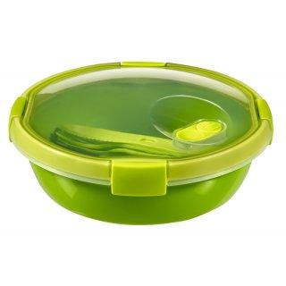 Pojemnik spożywczy okragły 1 L zielony GALICJA