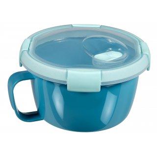 Pojemnik na zupę 0,9 L niebieski GALICJA