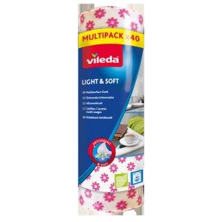 Ścierka Light&Soft 40 szt VILEDA