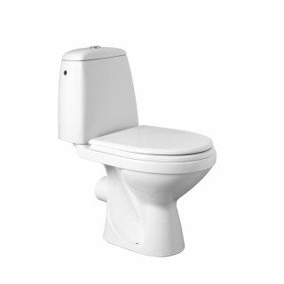 Kompakt WC Solo odpływ poziomy 3/6 L + deska KOŁO