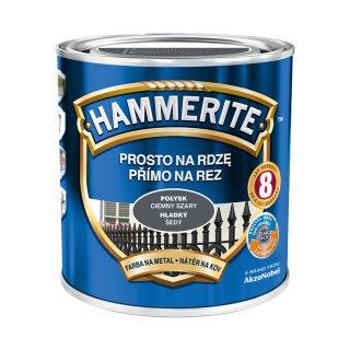 Farba antykorozyjna Ciemny szary 0,7 L Hammerite