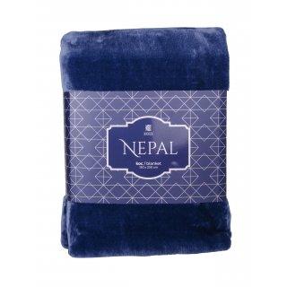 Koc Nepal 150x200 cm granat BBK