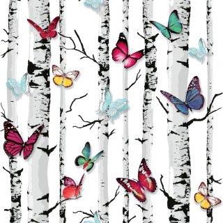 Tapeta papierowa motyle las 10 mb POLAMI