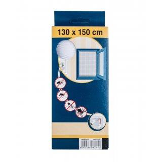 Moskitiera okienna biała 130x150 cm