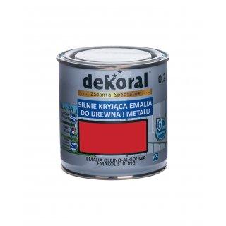 Emakol Strong czerw.karm.m.0,2l DEKORAL