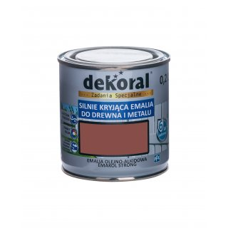 Emakol Strong mahoń matowy 0,2l DEKORAL