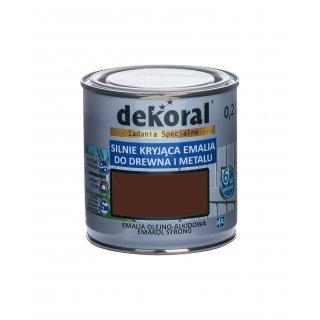 Emakol Strong brąz.ciemny 0,2l DEKORAL