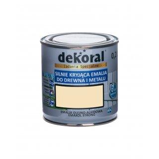 Emakol Strong kremowy 0,2l DEKORAL