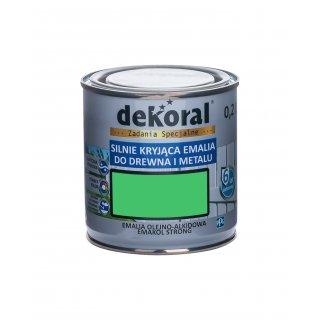Emakol Strong zielono-żółty 0,2l DEKORAL