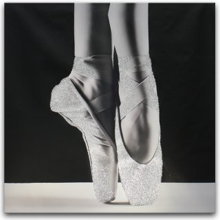 Obraz Canvas Baletki 60x60 STYLER