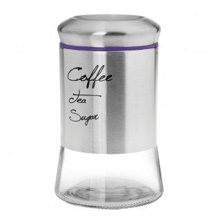 Pojemnik szklany 1000ml fioletowy GALICJA