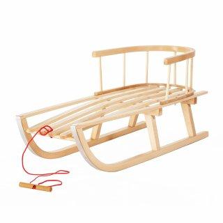 Sanki drewniane dla dzieci PSB