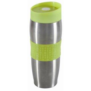 Kubek termiczny z podwójną ścianką Fusion Fresh Green 380 ml AMBITION