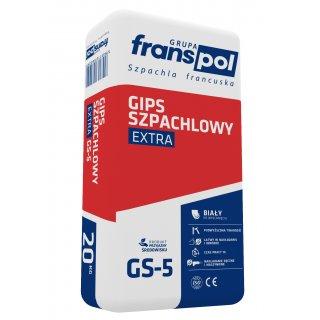 Gips szpachlowy 20 kg Extra FRANS-POL