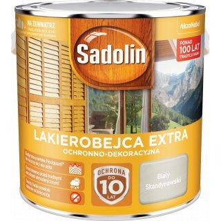 Impregnat do drewna Biały Skandynawski 2,5L Sadolin Extra