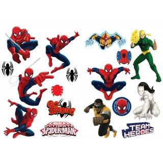 Naklejki płaskie ścienne 45x65 cm Spider-Man DOMSTYL