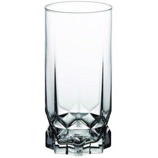 Komplet 6 szklanek wysokich Diamond 325 ml AMBITION