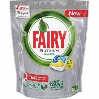 Kapsułki do zmywarek 45 szt Platinum all in one lemon FAIRY