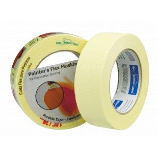 Taśma malarska do krzywizn 36 mm x 30yd BLUEDOLPHIN