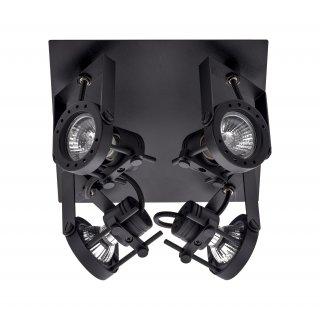 Lampa 4-punktowa Medison czarny mat ADRILUX