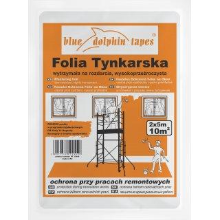 Folia tynkarska 2mx5m BLUEDOLPHIN