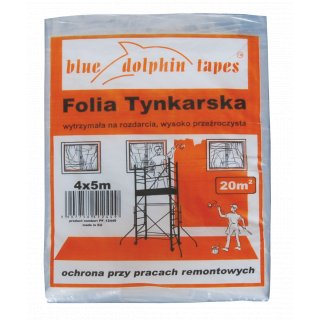 Folia tynkarska PF_12449 4mx5m BLUEDOLPHIN