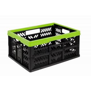 Kosz składany KLAPPBOX 32l zielony OKT