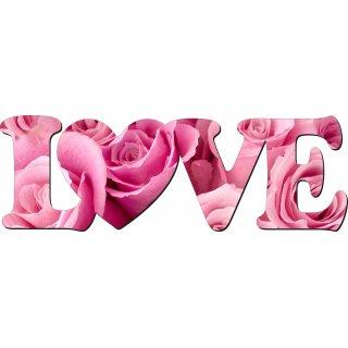 Napis dekoracyjny 3D Love