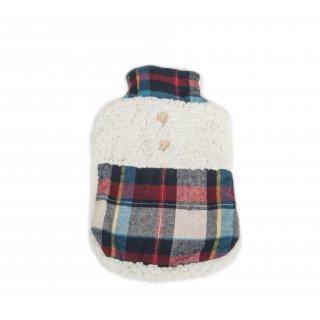 Termofor w sweterku w kratę FLORENTYNA
