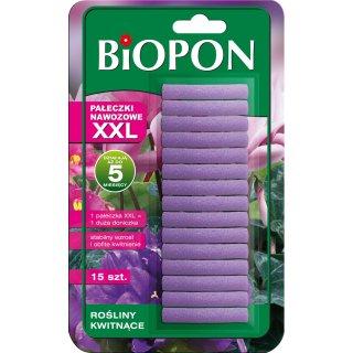 Pałeczki nawozowe XXL do roślin kwitnących 15 szt. BIOPON