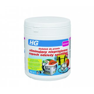 Dodatek do prania eliminujący zapach odzieży sportowej 0,5 kg HG