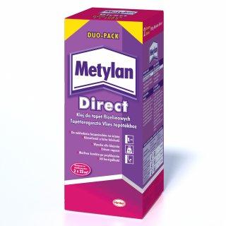 Klej do tapet flizelinowych Direc Duopack 400 g METYLAN