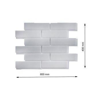Cegła dekor gładka Retro 1 0,96 m2 DOMSTYL