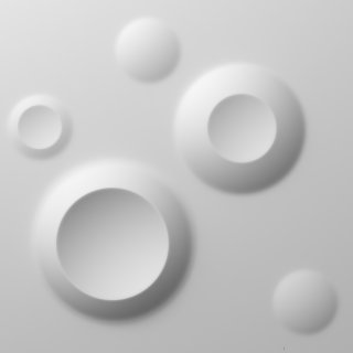 Panel dekor 3D Planeta 50x50cm 1m2 DOMSTYL