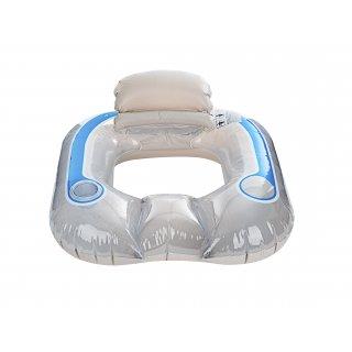 Fotel do pływania z oparciem 102 x 94 cm VOG