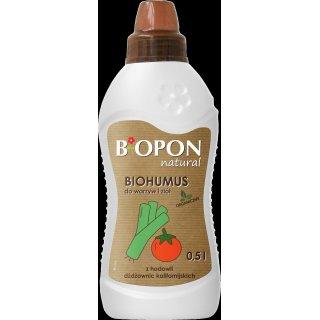 Biohumus do warzyw i ziół 1l BIOPON