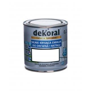 Emakol Strong biały matowy 0,2l DEKORAL