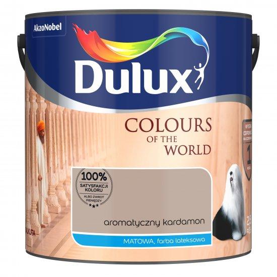 Farba do wnętrz Aromatyczny Kardamon 2,5L Kolory świata DULUX