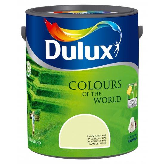 Farba do wnętrz Bambusowy Gaj 5L Kolory świata DULUX
