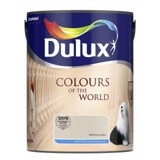 Farba do wnętrz Beżowy Pled 5L Kolory świata DULUX