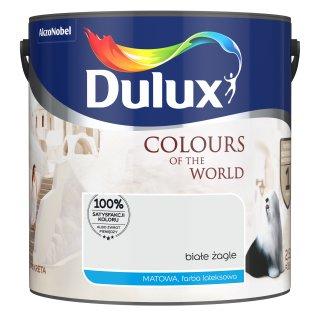 Farba do wnętrz Białe Żagle 2,5L Kolory świata DULUX