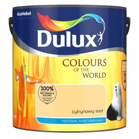 Farba do wnętrz Cytrynowy Sad 2,5L Kolory świata DULUX