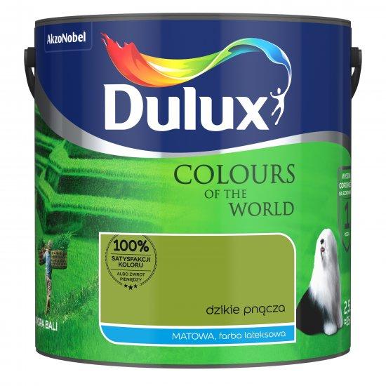 Farba do wnętrz Dzikie Pnącza 2,5L Kolory świata DULUX
