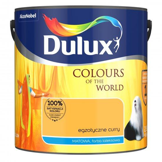 Farba do wnętrz Egzotyczne Curry 2,5L Kolory świata DULUX