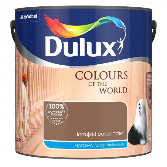 Farba do wnętrz Indyjski Palisander 2,5L Kolory świata DULUX