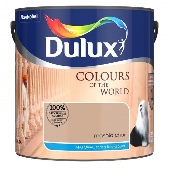 Farba do wnętrz Masala Chai 2,5L Kolory świata DULUX