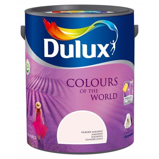 Farba do wnętrz Ogrody Magnolii 5L Kolory świata DULUX