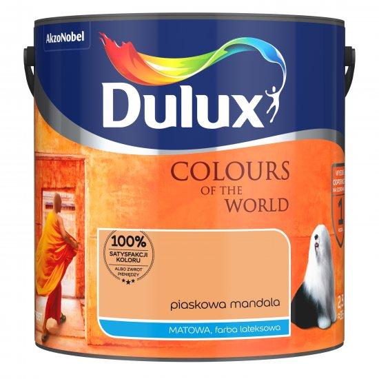 Farba do wnętrz Piaskowa Mandala 2,5L Kolory świata DULUX
