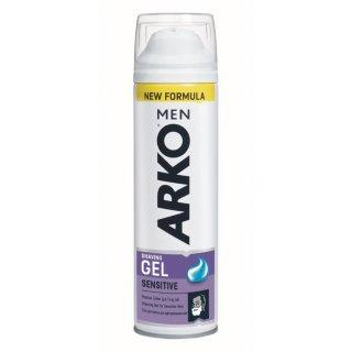 Żel do golenia 200 ml Sensitive ARKO MEN