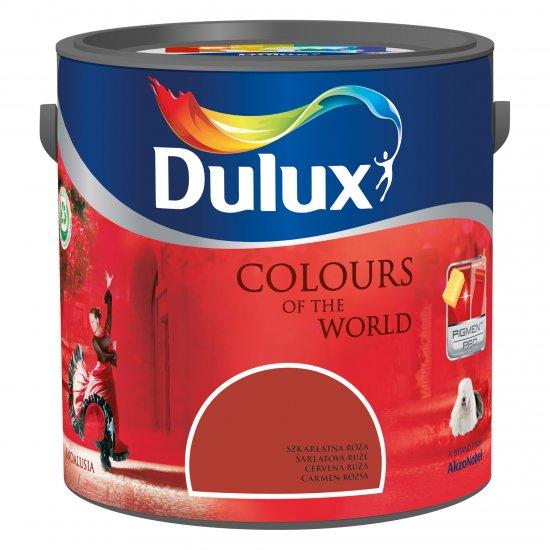 Farba do wnętrz Szkarłatna Róża 2,5L Kolory świata DULUX